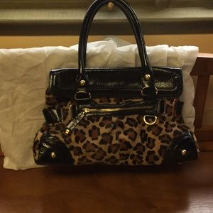 Hype Animal Print with black patent leather trim